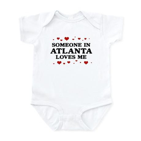 Loves Me in Atlanta Infant Bodysuit