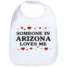 Loves Me in Arizona Bib