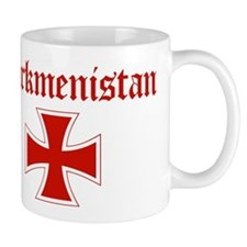 Turkmenistan (iron cross) Mug