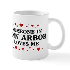 Loves Me in Ann Arbor Mug