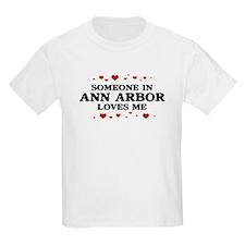 Loves Me in Ann Arbor T-Shirt