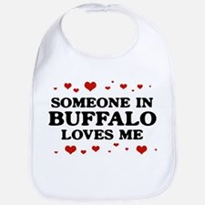 Loves Me in Buffalo Bib