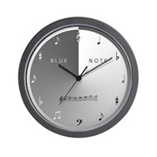 BLUE NOTE Wall Clock
