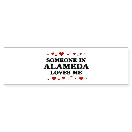 Loves Me in Alameda Bumper Sticker (50 pk)