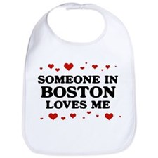 Loves Me in Boston Bib