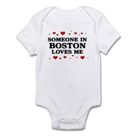 Loves Me in Boston Infant Bodysuit