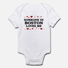 Loves Me in Boston Infant Bodysuit