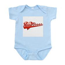 Love Vegas! (Red Logo) Infant Creeper
