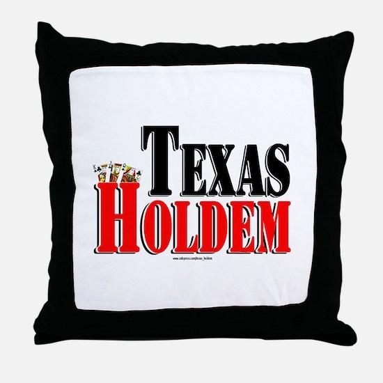Texas Holdem Throw Pillow