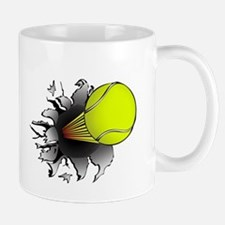 Shooting Tennis Ball Mug