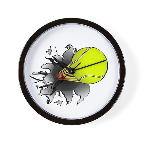 Shooting Tennis Ball Wall Clock