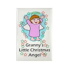 Granny's Little Angel's Rectangle Magnet