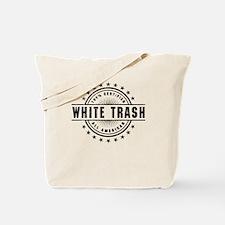 All American White Trash Tote Bag