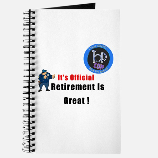 Police Retirement Stationery Cards Invitations