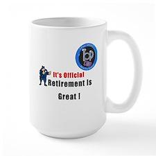'Police Retirement Designs. Mug