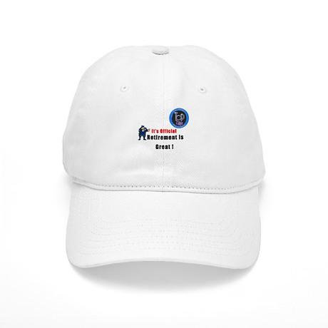 'Police Retirement Designs. Cap