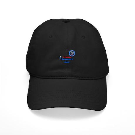 'Police Retirement Designs. Black Cap