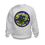 USS HAWKBILL Kids Sweatshirt