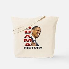 Obama History Tote Bag