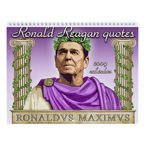 Ronald Reagan 2009 Calendar Wall Calendar