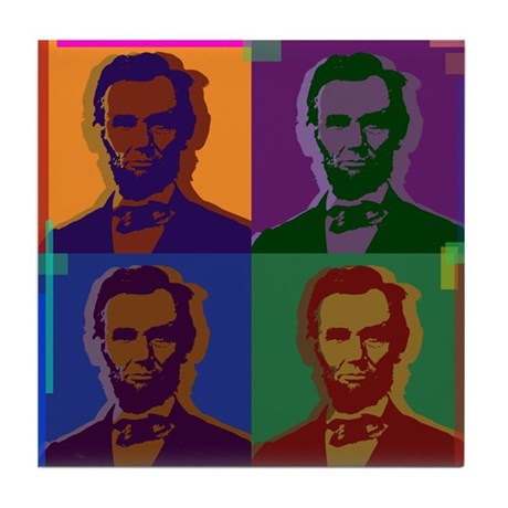 Lincoln Tile Coaster