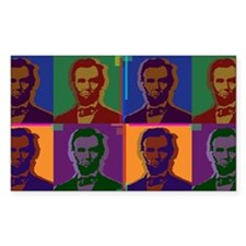 Lincoln Rectangle Decal