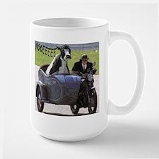 Cow in Sidecar Large Mug