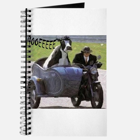 Cow in Sidecar Journal