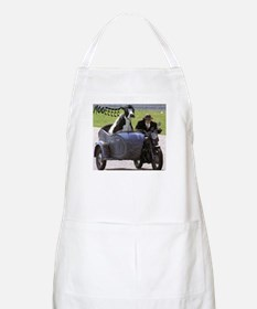 Cow in Sidecar BBQ Apron