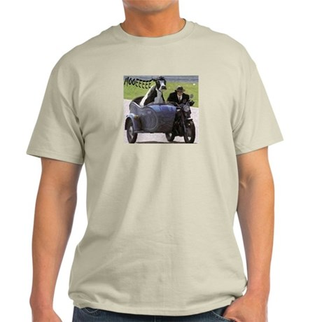 Cow in Sidecar Light T-Shirt