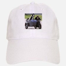 Cow in Sidecar Baseball Baseball Cap