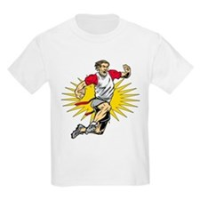 Flag Football Player T-Shirt