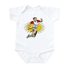 Flag Football Player Infant Bodysuit