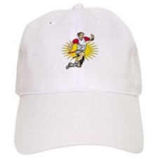 Flag Football Player Baseball Cap