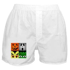 Halloween Monsters Boxer Shorts