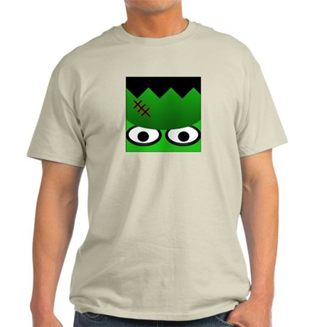 Halloween Frankenstein Ash Grey T-Shirt