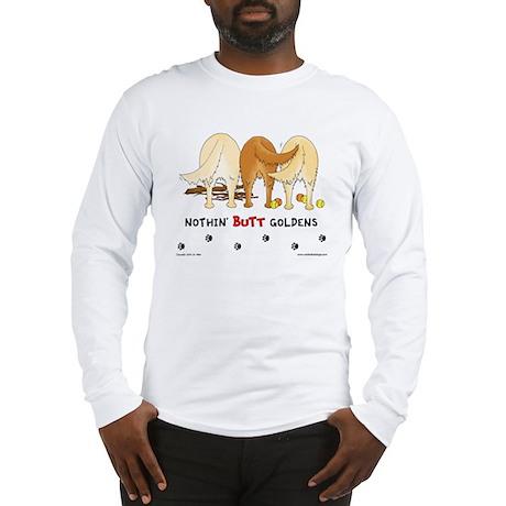 Golden Butts with Sticks/Balls Long Sleeve T-Shirt