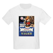 Tiger Firecrackers Kids T-Shirt