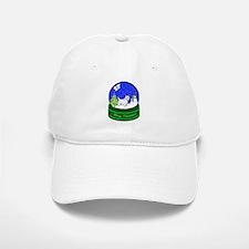 Snow Globe Westie Baseball Baseball Cap