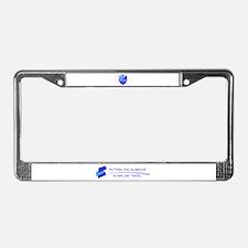 Cute Hostess License Plate Frame