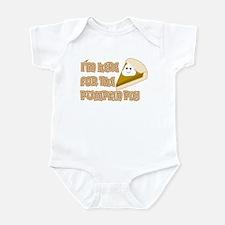 Pumpkin Pie Infant Bodysuit