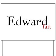 Twilight Edward Fan Yard Sign