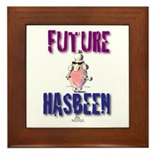 Future Sheep Framed Tile