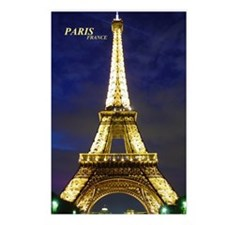 Night Eiffel Postcards (Package of 8)