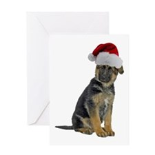German Shepherd Xmas Greeting Card