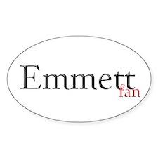 Twilight Emmett Fan Oval Decal