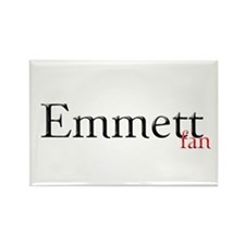 Twilight Emmett Fan Rectangle Magnet