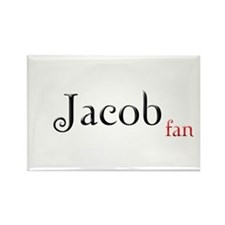 Twilight Jacob Fan Rectangle Magnet (10 pack)