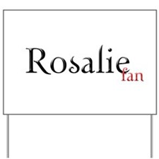 Twilight Rosalie Fan Yard Sign