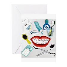 Dentists, Hygienists, Orthodo Greeting Cards (Pk o